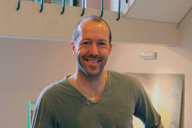 Jostein Wahl, lektor ved Lillehammer videregående skole.
