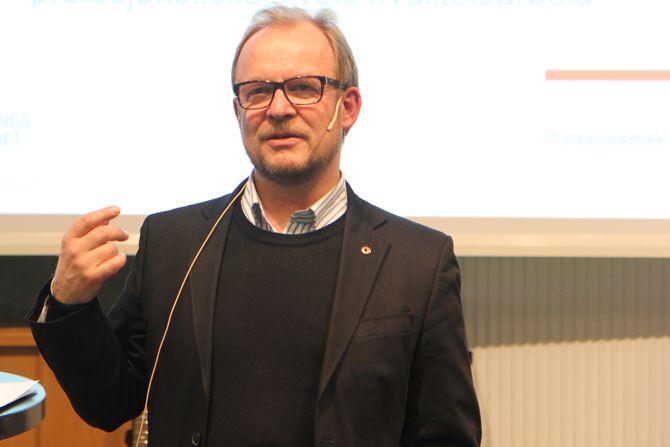 Leder i Utdanningsforbundet i Nord-Trøndelag, Bjørn Wiik.