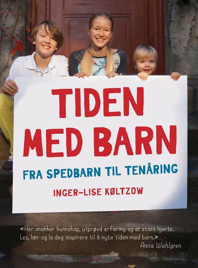 Boka «Tiden med barn - Fra spedbarn til tenåring» lanserer på Litteraturhuset i Oslo 25. februar.