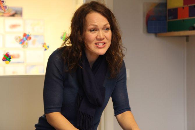 Musikkterapeut Lise Lotte Ågedal.
