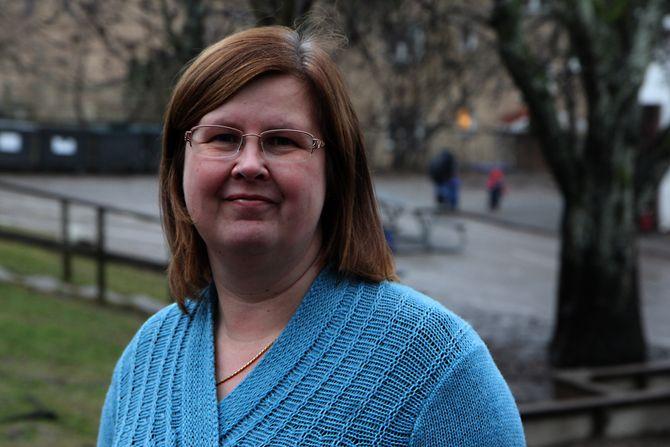 – Det var en øyeåpner for meg at det ikke finnes ufaglærte i den finske barnehagen, sier finske Henna Naustheller.