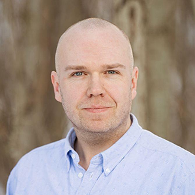 Høgskolelektor ved seksjon for pedagogikk ved DMMH, Kris Kalkman.
