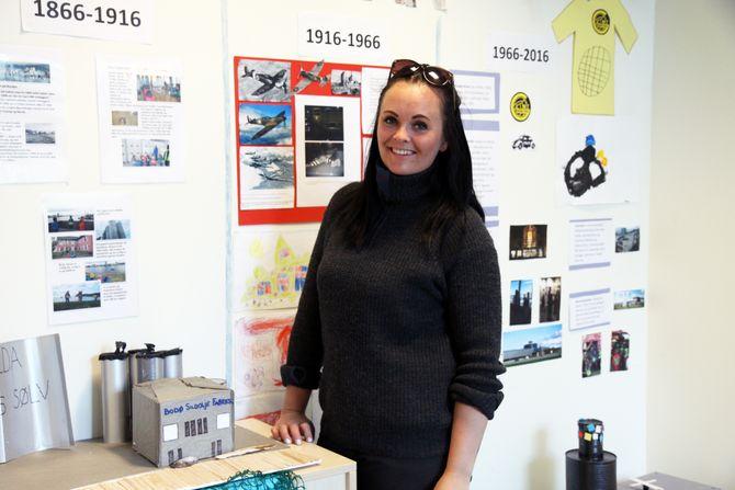 Linn Jardine Torgersen, pedagogisk leder i Læringsverkstedet.