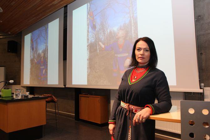 - Samisk kultur er økologisk, bærekraftig og miljøvennlig, sier Meerke Bientie.