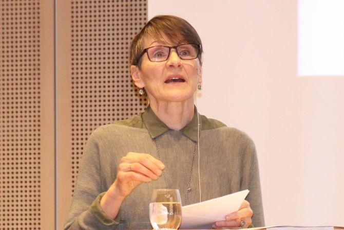 Førstelektor i pedagogikk ved Universitetet i Tromsø, Mai Britt Helgesen.