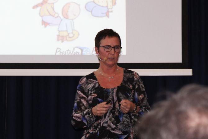 Nylig deltok Oddrunn Kvammen på en konferanse i Oslo om barns seksualitet og forebygging av overgrep, for å fortelle om barnehagens erfaringer med Æ E MÆ.
