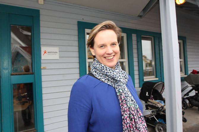 Daglig leder Hanne Kolnes Williams i Midtstuen Kanvas-barnehage i Oslo.