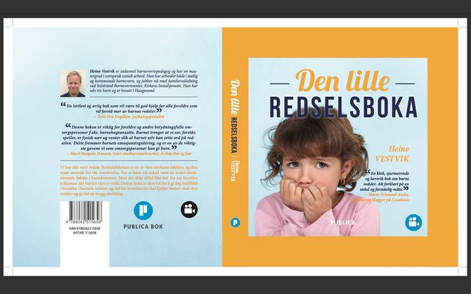 """""""Den lille redselboka"""" av Heine Vestvik."""