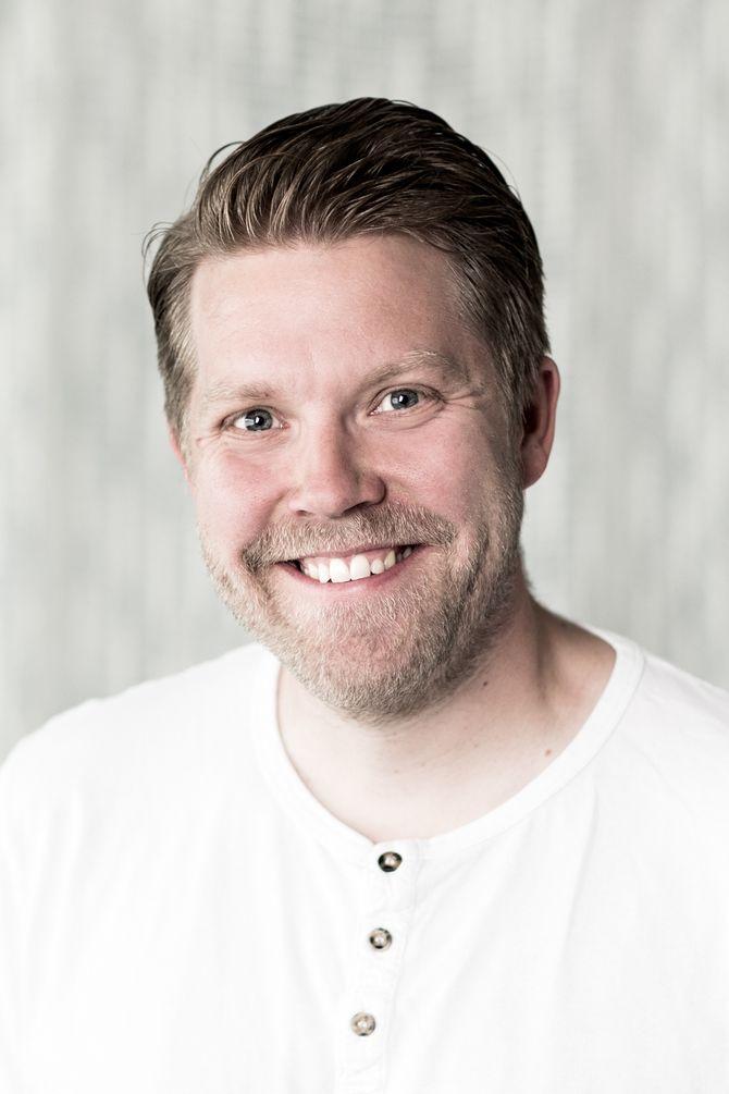 Dagfinn Bakkeløkken, pedagogisk leder i Ebbegarden barnehage.