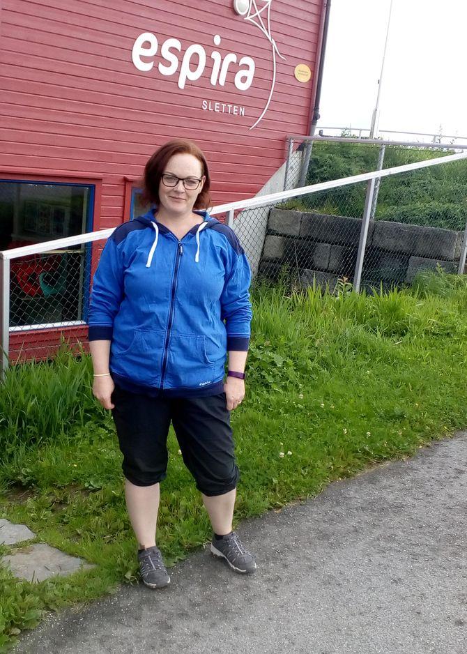 Styrerassistent Lidun Ovesen i Espira Sletten barnehage i Karmøy.