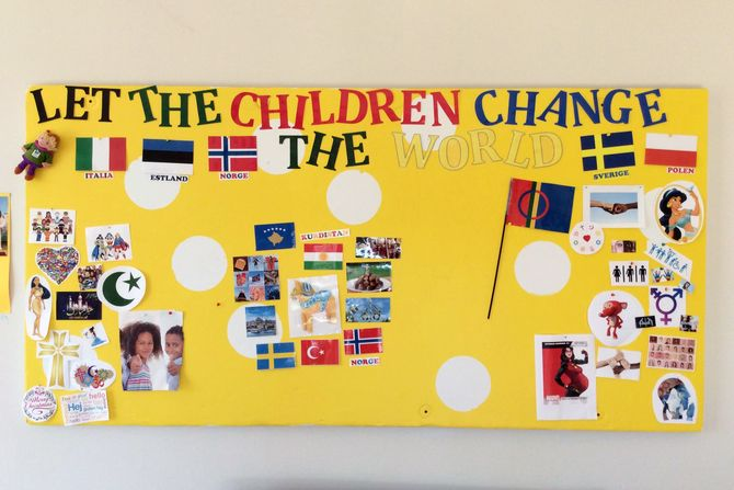 Prosjektet har fått navnet «Let the children change the world».