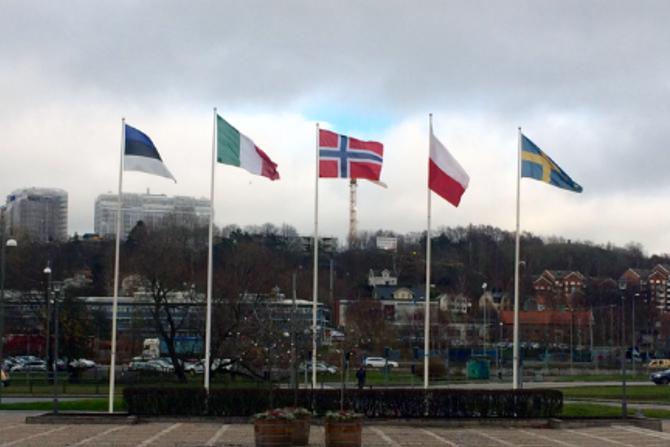 I tillegg til Gråtass barnehage, deltar barnehager fra Sverige, Polen, Estland og Italia i prosjektet.