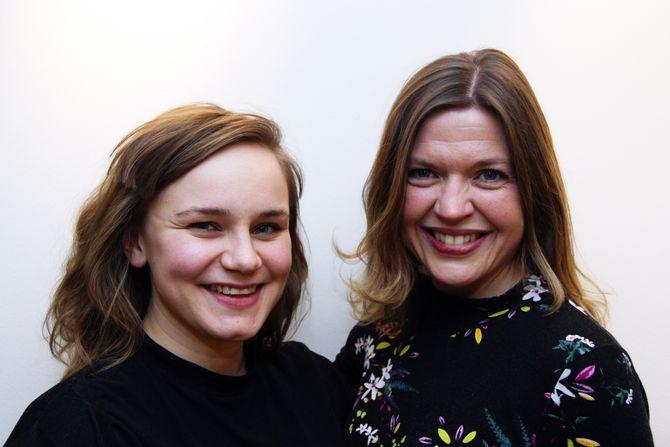 Silje Neraas og Cecilie Dyrkorn Fodstad jobbar som norsklektorar ved Dronning Mauds Minne Høgskole.