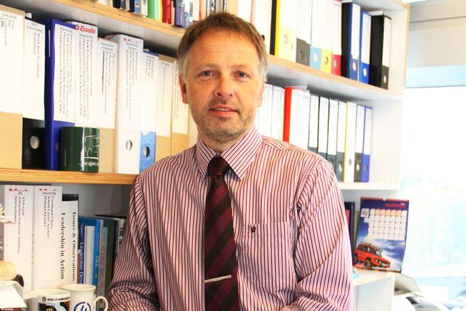 Frode Hübertz Haaland, førsteamanuensis ved avdeling for språk, økonomi og samfunnsfag ved Høgskolen i Østfold.