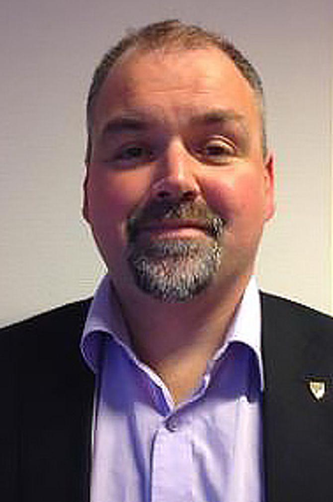 Ordfører Johnny Hanssen (Ap) i Brønnøy.