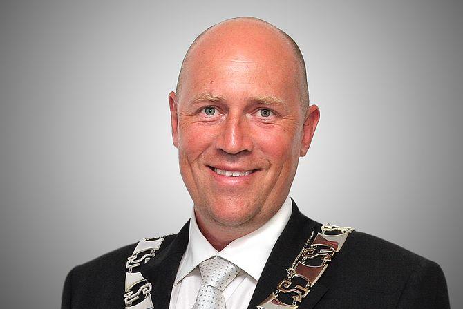 Ordfører Robert Svarva (Ap) i Levanger.