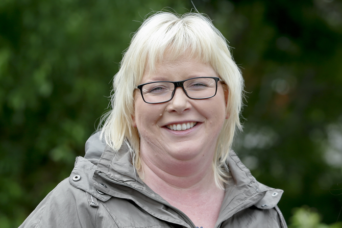 Styrer Elin Bauge Dybdahl i Amanda barnehage i Haugesund.