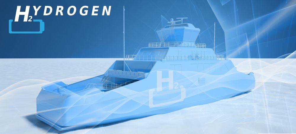 Boreal og Wärtsilä letter på designsløret for det som kan bli verdens første hydrogenferge.