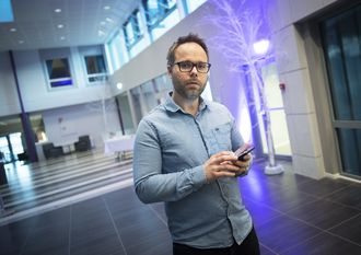Klubbleder Johan Prestvik i Trønder-Avisa.