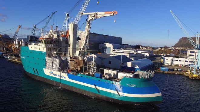 Ulstein bygger nytt vindparkskip