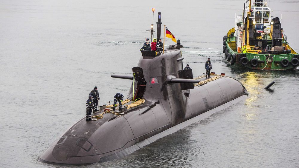 Den tyske ubåten U-36 (S186) tilhørende 212A-klassen ble tatt i bruk første gang i oktober 2016. Her er den på oslobesøk.