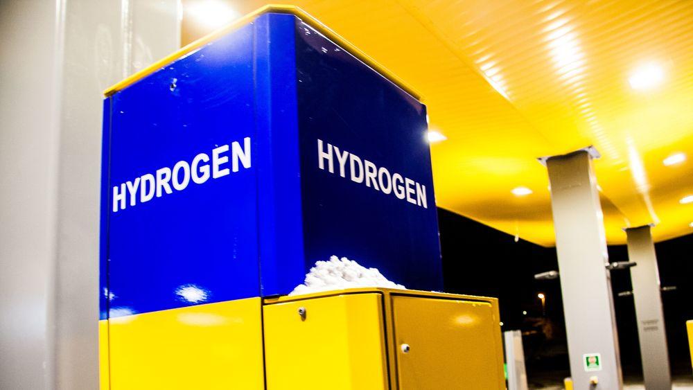 Hydrogenstasjon i Bergen.