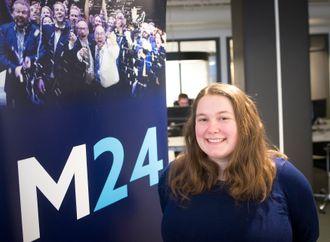 Journalist Eira Lie Jor i Medier24.