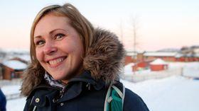 Universitetsbarnehageprosjektet i Tromsø. Andreårsstudent Camilla Henriksen.