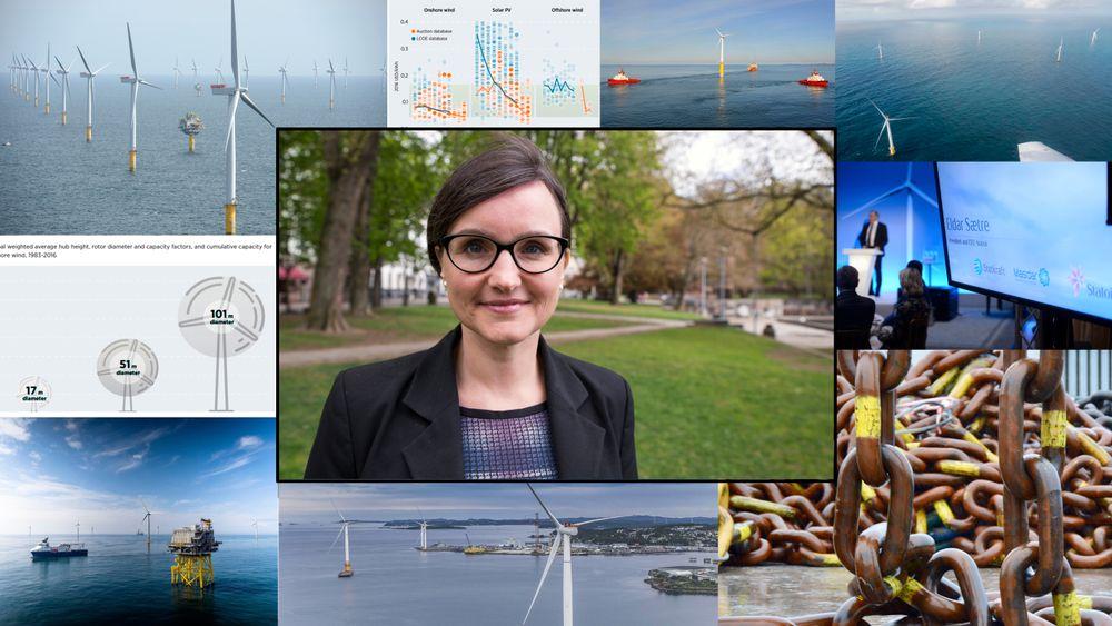 Statoils direktør for innovasjon og strategi i NES (New Energy Solutions), Sonja Chirico Indrebø, mener flere vil se mulighetene innen offshore vind i året som kommer.