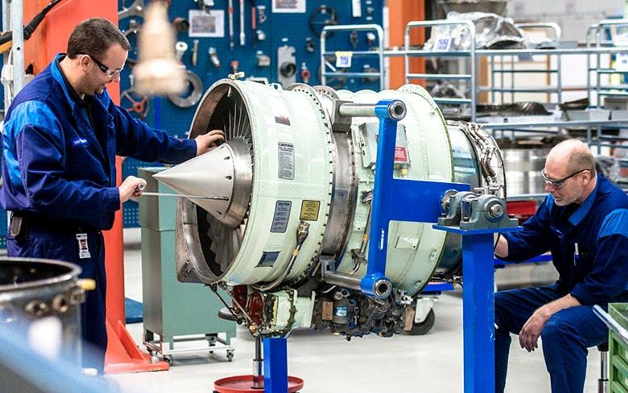 Trenger mer intelligent IT: Konstruksjon og produksjonen ved GKN Aerospace Norway AS kan ha glede av den nye kognitive teknologien mener  direktør for forskning og teknologi i GKN Aerospace Norway AS, Ole Hoen.