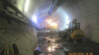 Tyskere støpte fast tunnelboremaskin for å redde tunnel