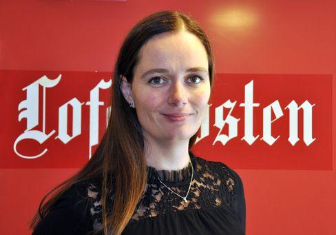 Marianne Steffensen Kielland, ansvarlig redaktør og daglig leder i Lofotposten.
