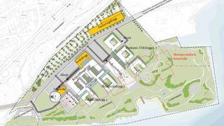 Nytt storsykehus plassert i område med jevnlige skred, kvikkleire og fare for flom