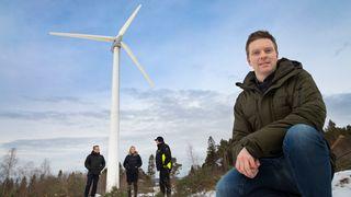Denne vindturbinen skal vise hvordan øysamfunn kan bli selvforsynte med fornybar kraft