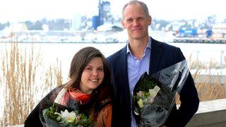 Kaia Tetlie og Mats Ektvedt rykker opp - blir partnere i Corporate Communications