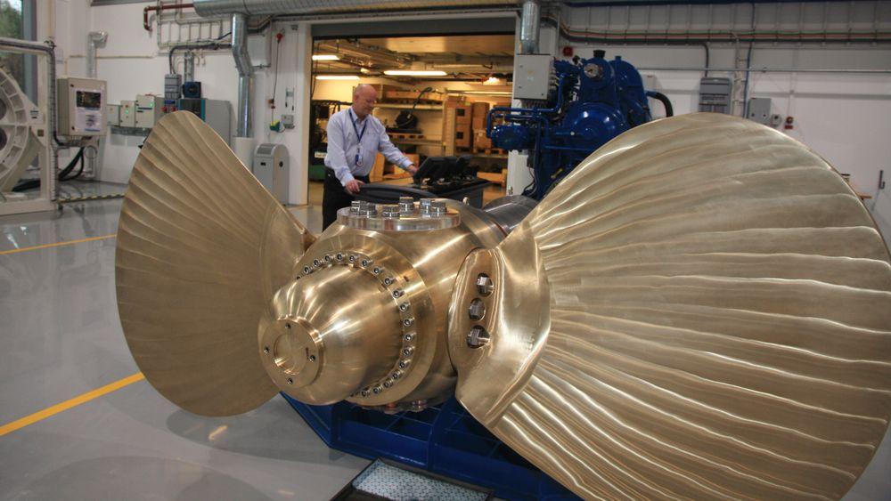Treningssenteret til Rolls-Royce i Ålesund.