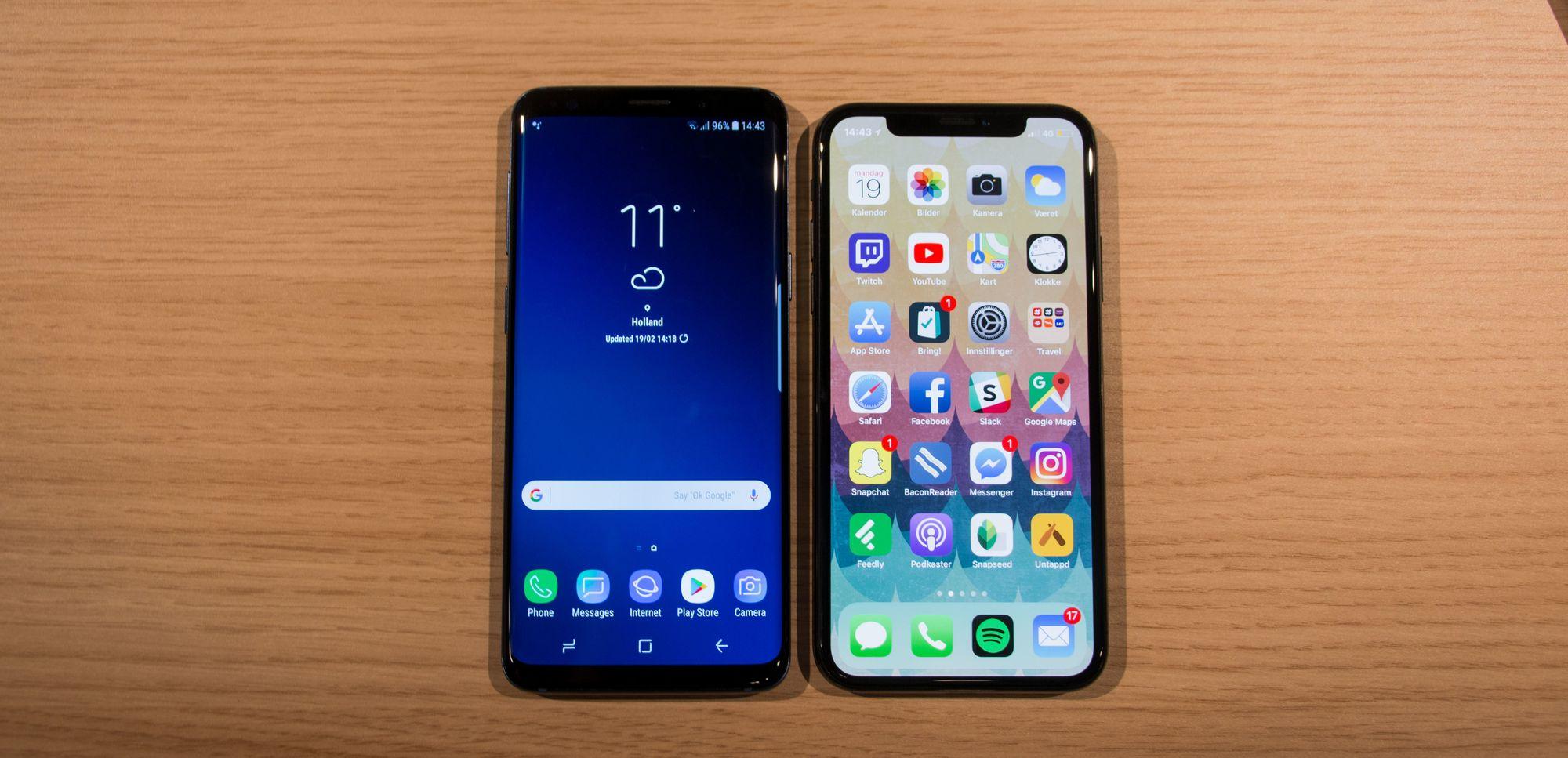 Samsung S9 Skjermstørrelse