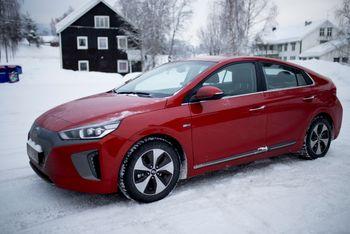 Elbilen Hyundai Ioniq kommer best ut i et livsløpsperspektiv i kompaktklassen.
