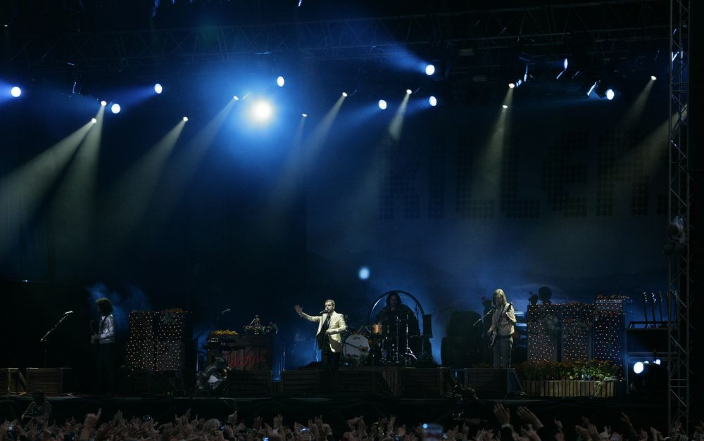 The Killers på Hovefestivalen i 2007.