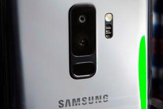 Samsung Galaxy S9.