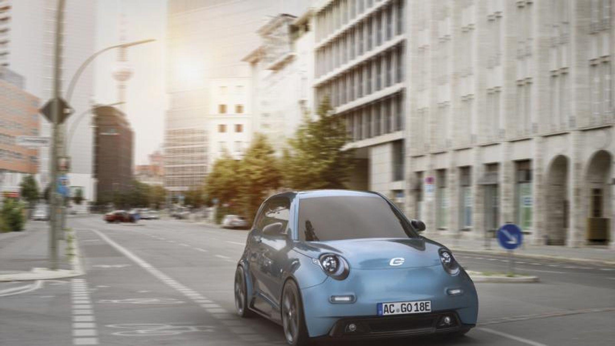 E.go er en 100 prosent bybil. Den første modellen heter E.go Life og har plass til fire personer. Den kommer med tre ulike batteristørrelser med en rekkevidde på mellom 104 og 154 km bykjøring.