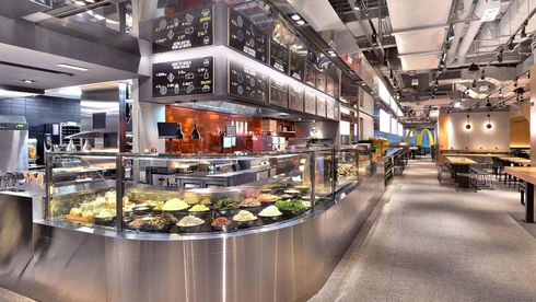 McDonald´s Next Restaurant Hamburger Hong Kong