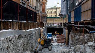 Feilberegning av betong bak de siste overskridelsene i byggesprekken på Stortinget