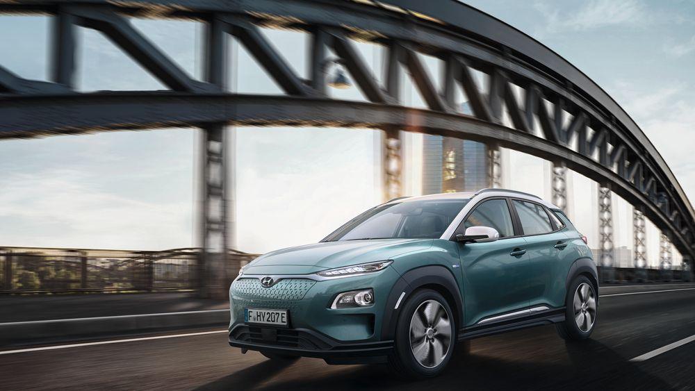 Hyundai Kona blir nesten lik utgaven av bilen med forbrenningsmotor.