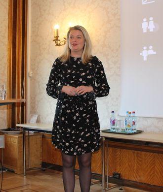 Rikke Kyllenstjerna i Postnord minner om at det er viktig at netthandelsaktører tenker på logistikken.