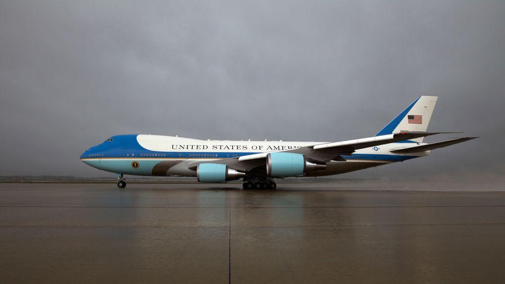 Presidentens jumbojet begynner å dra på årene, og nå har Donald Trump og Boeing blitt enige om en uformell avtale om leveranse av to splitter nye fly. Arkivfoto.