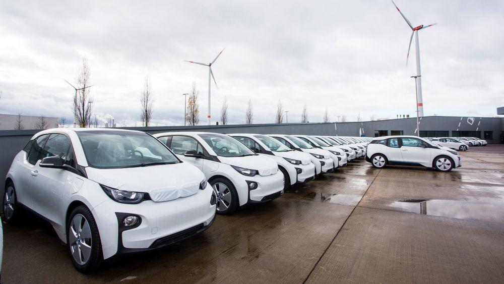 BMW i3 klar til levering fra fabrikk i Tyskland.