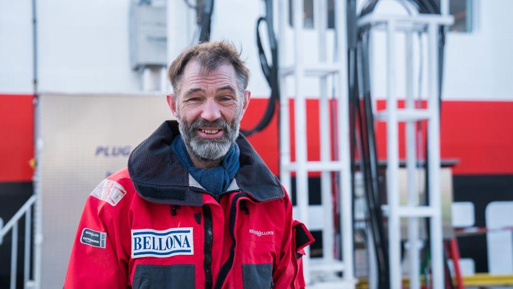 Sigurd Enge, skipper og Bellonas talsmann om skipsteknologi og oljevern.