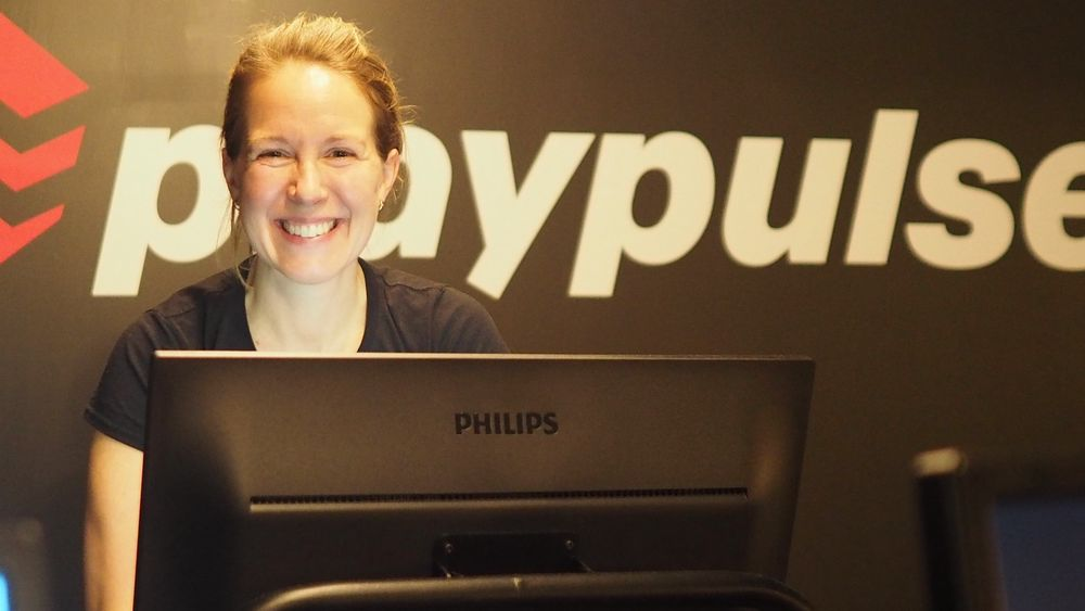 Elina Willert, medgrunder i Playpulse, har testet ut produktet sitt på tusen personer.