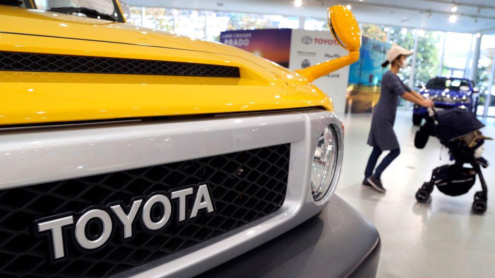 Toyota varsler «betydelig dyrere» biler i USA som følge av tollavgifter på stål og aluminium. Illustrasjonsfoto fra Tokyo 2017.